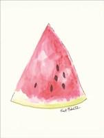 W is for Watermelon Fine Art Print