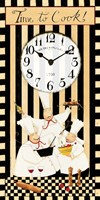 Time to Cook Clock Fine Art Print