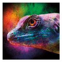 Party Lizard Fine Art Print
