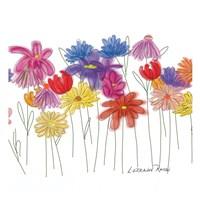 Field of Flowers A Fine Art Print
