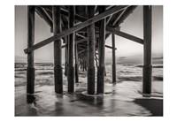 Beneath The Pier Fine Art Print