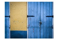 Blue Entrance Fine Art Print