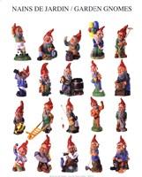 Garden Gnomes Fine Art Print