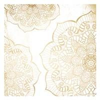 Gold Mandala Fine Art Print