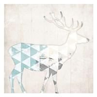 Deer Abstract Fine Art Print