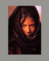 luc Manaud - Young Tuareg Woman, Niger Fine Art Print
