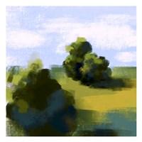 Green Landscape Fine Art Print