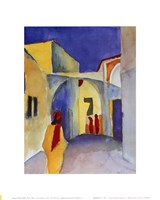 "Regard Sur la Ruelle by August Macke - 10"" x 12"""