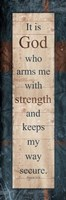 God Strength Fine Art Print