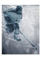 Hockey Go Framed Print