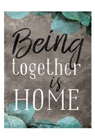 Being Together Fine Art Print