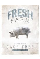 Fresh Farm Framed Print
