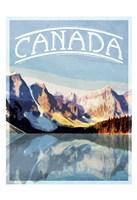 Canada Mountains Fine Art Print