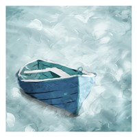 Lonely Boat Fine Art Print
