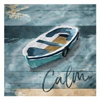 Calm Boat Fine Art Print