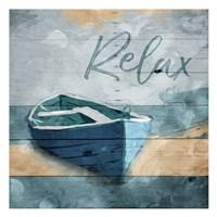 Relax Boat Fine Art Print