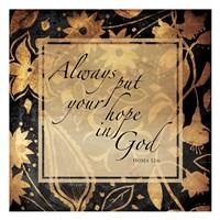 In God Fine Art Print