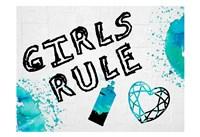 Girls Rule 2 Framed Print