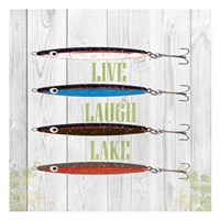 Live Laugh Lake Fine Art Print