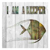 I Am A Keeper Fine Art Print