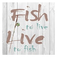 Fish to Live Fine Art Print