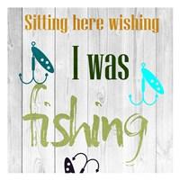 Fishing Days 2 Fine Art Print