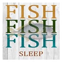 Fish Fish Fish Fine Art Print