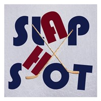 Hockey Shot Fine Art Print