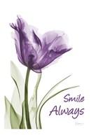 Smile Smiling Tulip Fine Art Print