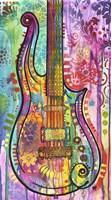 Prince Cloud Guitar Fine Art Print