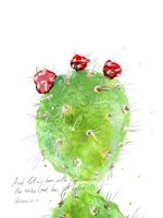 Cactus Verse IV Framed Print