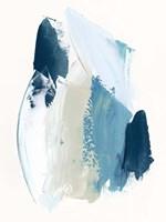 Cobalt Crush I Framed Print