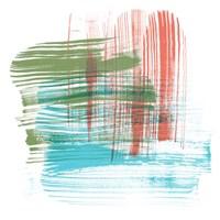Color Swipe I Framed Print