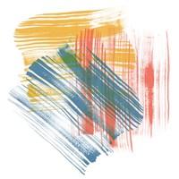 Color Swipe II Framed Print