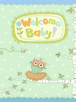 Baby Owl I Fine Art Print