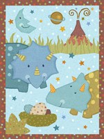 Dino Friends I Fine Art Print