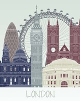 London Skyline Fine Art Print