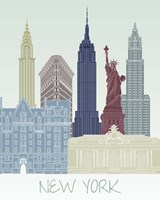 New York Skyline Fine Art Print