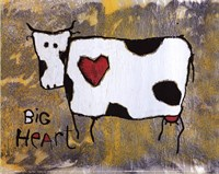 "Big Heart by Jacques Clement - 12"" x 9"""