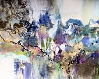 Rainbow Blue I Framed Print