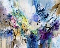 Rainbow Blue V Fine Art Print