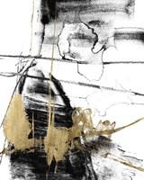 Glam & Black III Framed Print