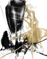 Glam & Black IV Framed Print