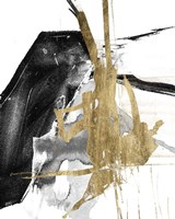 Glam & Black V Framed Print