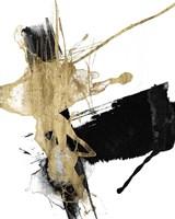 Glam & Black VI Framed Print