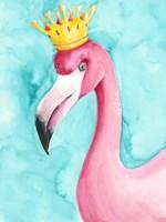 Flamingo Queen I Framed Print