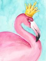 Flamingo Queen II Framed Print