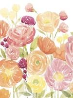 Pastel Petals I Framed Print