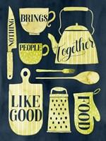 Food for the Soul I Framed Print