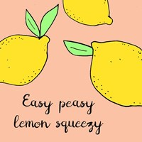 Lemon Squeeze II Fine Art Print